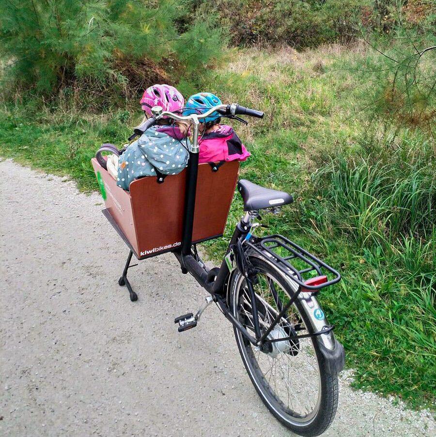 Ein Ausflug mit dem Lastenrad